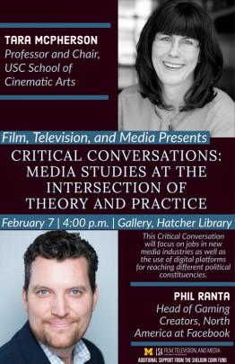 poster with headshot of Tara McPherson and Phil Ranta