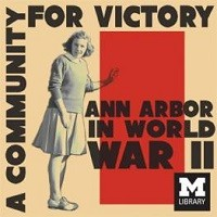 Community for Victory Exhibit Poster