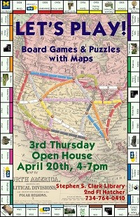 Let's Play Third Thursday Exhibit Poster