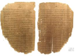 Photo of pages from the Pauline Epistles.