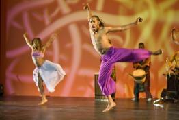 Step Afrika! dancers
