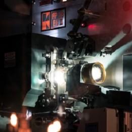 Movie projection camera