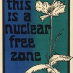 Anti-nuke poster from Labadie collection
