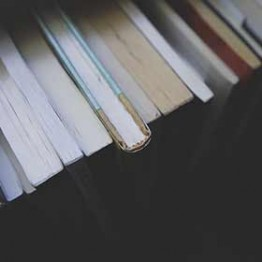 tops of books