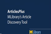 Searching for Articles? Try ArticlesPlus