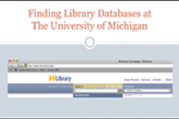 Finding Library Databases