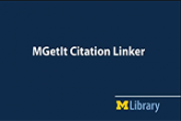 MGet It Citation Linker: Get full-text from a citation!