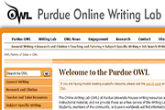 Online Writing Lab at Purdue (OWL)
