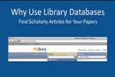Why Use Library Databases?