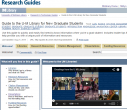 Library Guide for New Graduate Students
