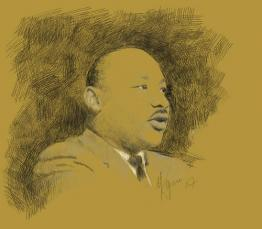 Martin Luther King by Dave McTeague from http://www.flickr.com/photos/dave_mckeague/362318943/, used under a Creative Commons Attribution license: http://creativecommons.org/licenses/by-sa/3.0/