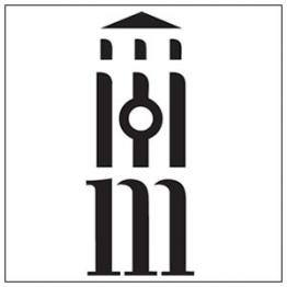 University of Michigan Press logo that mimics the University's iconic bell tower