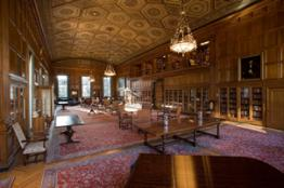 Photo of the Clements Library (interior).