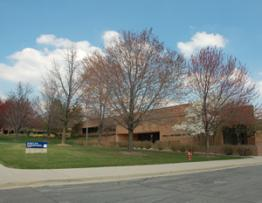 Photo of the Gerald R. Ford Library.