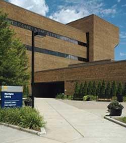 Photo of Mardigian Library (Courtesy of Joel Seewald)