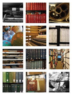 Snapshots of Clark Library collections