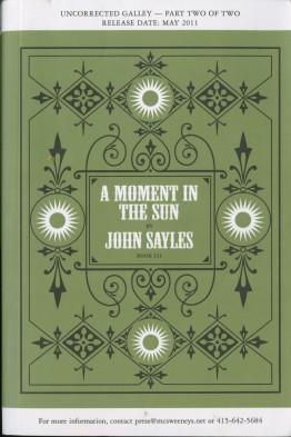 John Sayles book cover