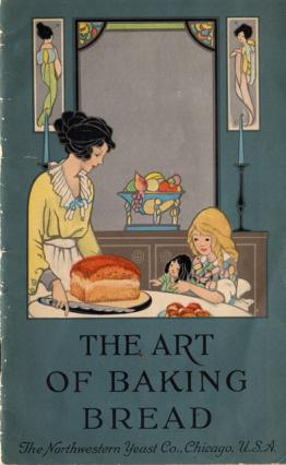 Scan of cover of The Art of Baking Bread