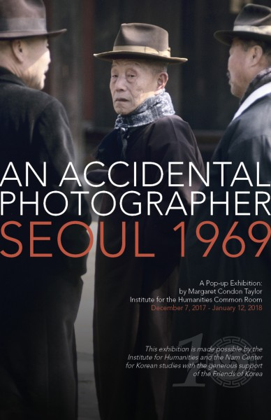 Poster for Accidental Photographer exhibition