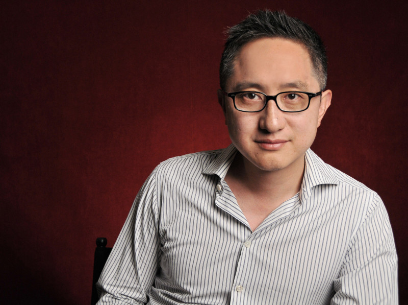 Photograph of Chinese film director Wu Hao