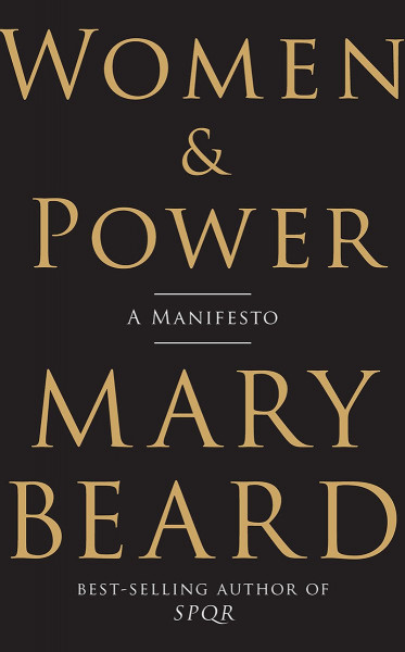 Cover of Women and Power by Mary Beard